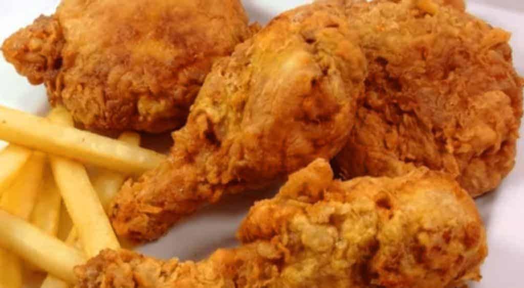 Healthy broaster fried chicken recipe