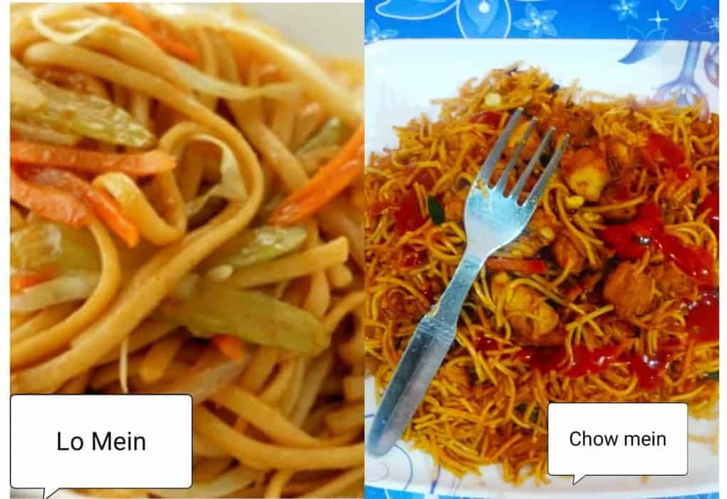 Chow Mein Vs Low Mein Difference Between Chow Mein And Lo Mein