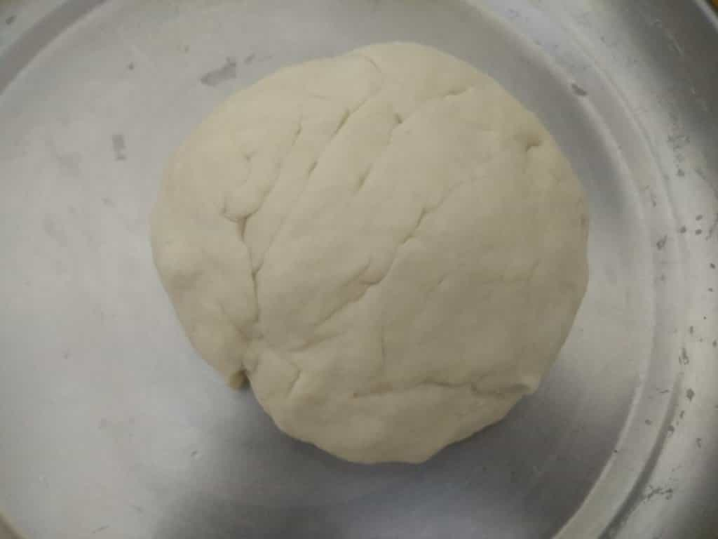 Flour dough to make paratha or roll