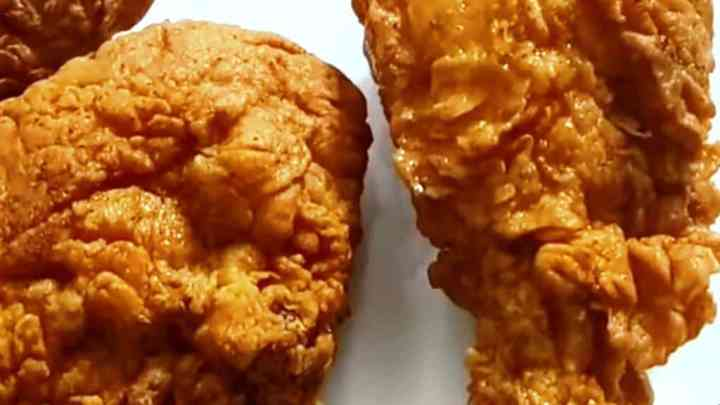 Healthy deep fried chicken