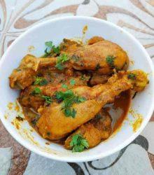 how to cook kosha murgir mangsho