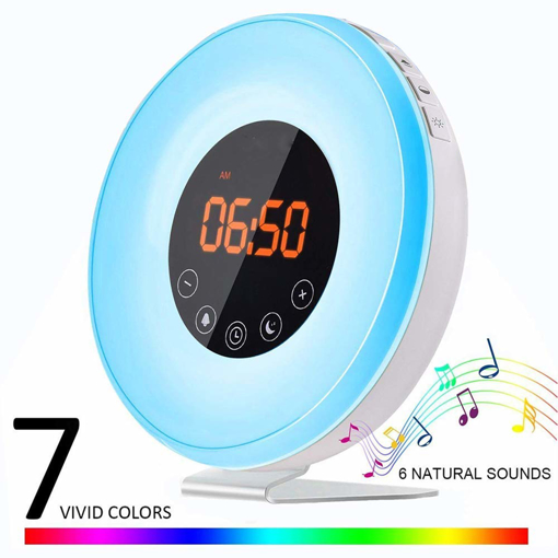 Alarm Clock Radio Wake Up Light Alarm Clock Room Lighting Street Lighting