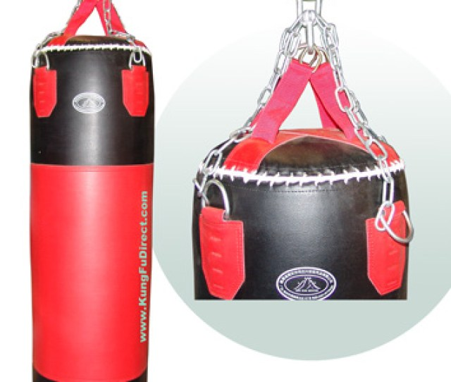 Heavy Leather Punching Bag  Lbs