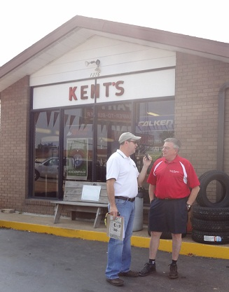 Bob Connell and Bobby Kent talk about the Kents Firestone 50th Anniversary April 27, 2012