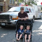 This looks like double trouble for Mom (Megan Bailey) and her twins
