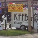 KFFB on Location Kents Firestone 50th Anniversary April 27, 2012