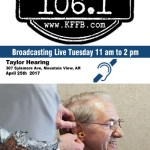 Join Timeless 106.1 KFFB for the Taylor Hearing Center Live Remote Broadcast Tour