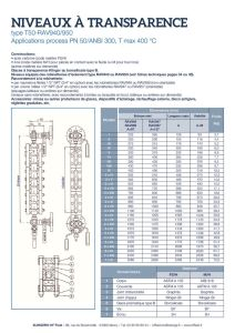 thumbnail of KLINGER INDICATEURS DE NIVEAU-fiche technique-application process niveaux 11