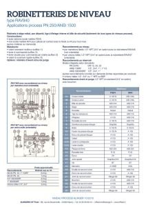 thumbnail of KLINGER INDICATEURS DE NIVEAU-fiche technique-application process robinet 22