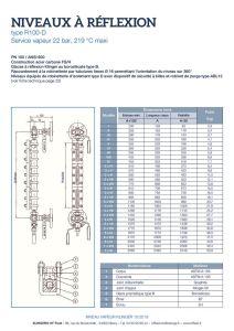 thumbnail of KLINGER INDICATEURS DE NIVEAU-fiche technique-application vapeur 1