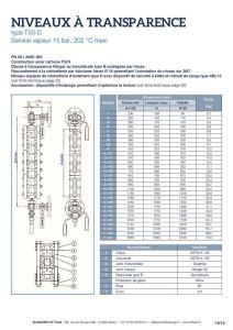 thumbnail of KLINGER INDICATEURS DE NIVEAU-fiche technique-application vapeur 4