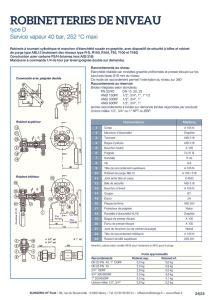 thumbnail of KLINGER INDICATEURS DE NIVEAU-fiche technique-niveaux vapeur bicolores 5
