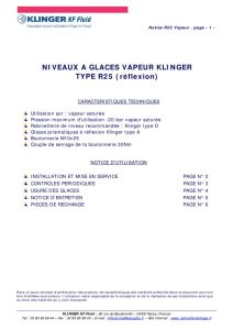 thumbnail of KLINGER INDICATEURS DE NIVEAU-insttruction de montage 1