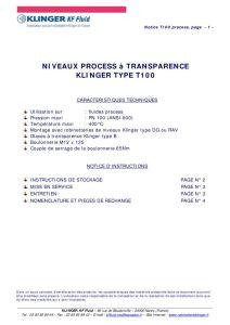 thumbnail of KLINGER INDICATEURS DE NIVEAU-insttruction de montage-application process 23