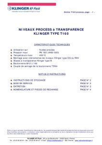 thumbnail of KLINGER INDICATEURS DE NIVEAU-insttruction de montage-application process 24