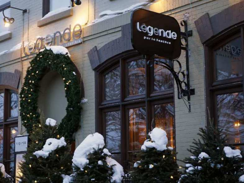 the-facade-of-legende-restaurant-is-pictured-in-quebec-city