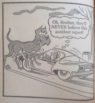 MARMADUKE IS STRONGER THAN THREE TONS OF STEEL