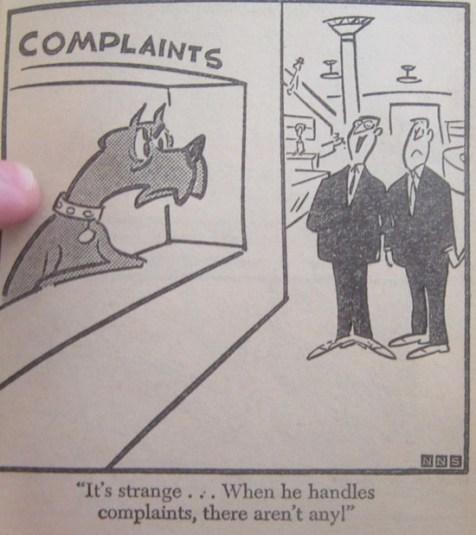 THE DUKE DARES YOU TO COMPLAIN