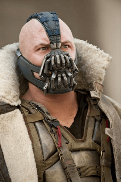 Bane: he has some breathing problems too