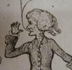 Cartoon of William Hunter