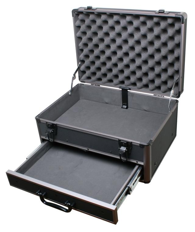 coffre a outils en aluminium avec tiroir