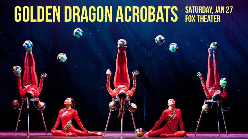 2018 Golden Dragon Acrobats contest