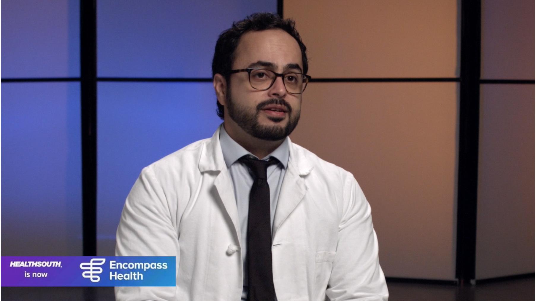 Dr. Pasha Ehsan on stroke rehabilitation