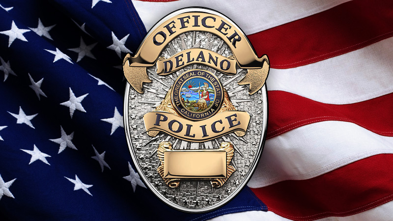 Delano Police Department logo