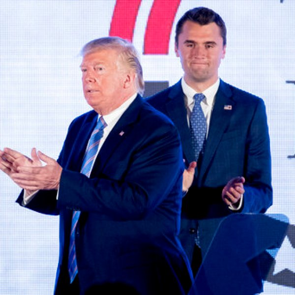 Donald Trump, Charlie Kirk