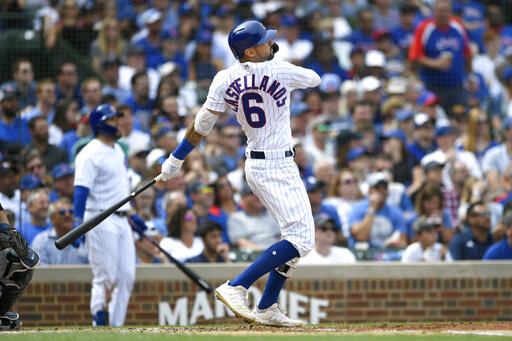 Castellanos Homers Twice Cubs Cruise Past Brewers 7 1 Kget 17
