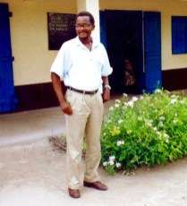 "Frederick O.K. Mensah, first Headmaster, Kopeyia Bloomfield Local Authority Schools. ""Brighten the corner where you are."""