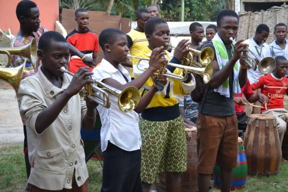Kopeyia School Brass Band