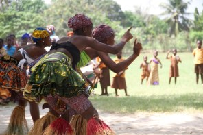 KOBLAS Cultural Troupe performing Adzogbo, 2013