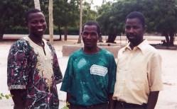 KOBLAS teachers, Simon Akutu, Blankson Sodzedo, Martin Shiki