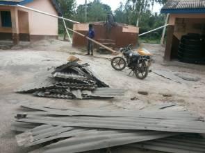 Kopeyia School Water Tank repair 2018