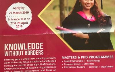 South Asian University Scholarship