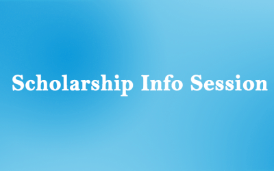Info-session on the Call for Applications for student scholarships