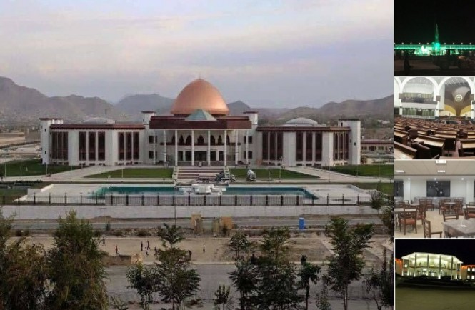 New Afghan Parliament Building
