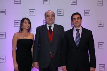 Nicole Bou Safi- Mimnister Fadi Abboud-Michel Habis