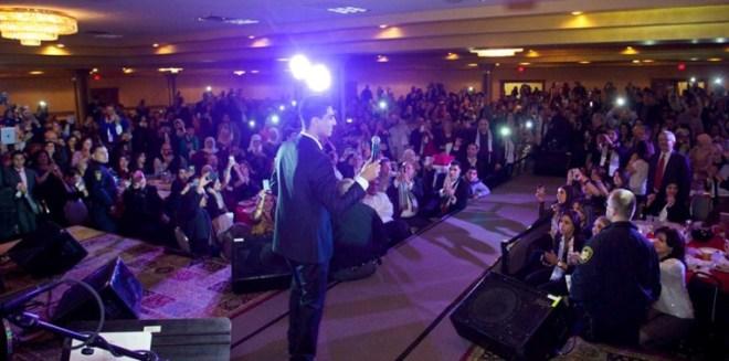 Arab Idol S2- Mohd Assaf- US Tour- Cleavland2