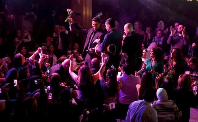 Arab Idol S2- Mohd Assaf- US Tour- Detroit5