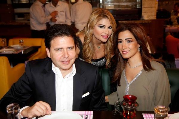 السيد وسام و مايا الصلح و هاديه رمضان