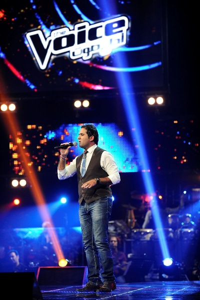 MBC1 & MBC MASR The Voice S2 ep 4 - Ahmad Hussein - Kazem's Team