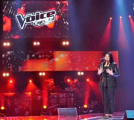 MBC1 & MBC MASR The Voice S2 ep4 - Hanane AlKhawli Chirine's Team