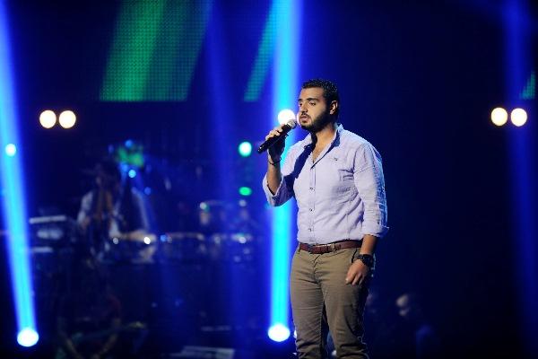 MBC1 & MBC MASR The Voice S2 ep4 - Khaled AlKhayat Chirine's Team