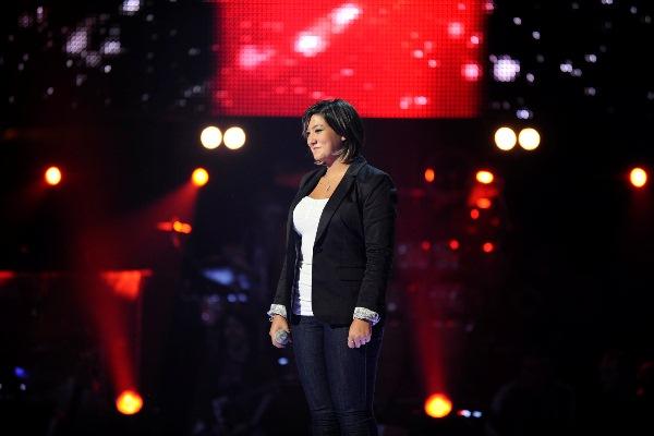 MBC1 & MBC MASR The Voice S2 ep4 - Sheryl Khairallah Saber 's Team  (1)