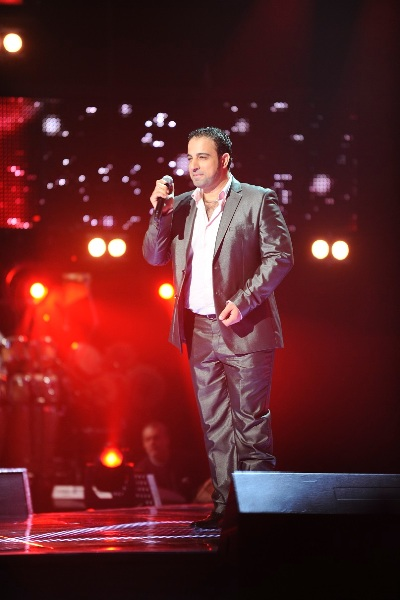 MBC1 & MBC MASR The Voice S2 - episode2 - Ammar Khatab - Kazem's Team