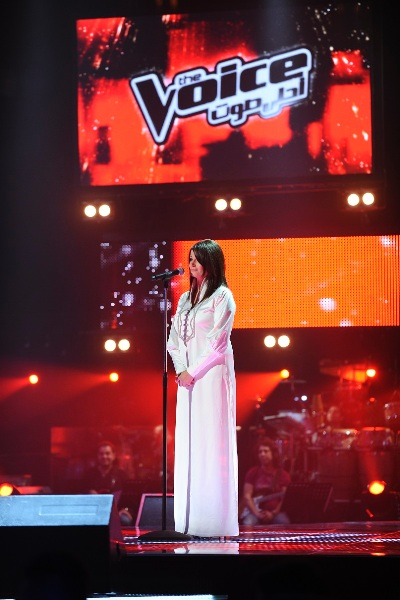 MBC1 & MBC MASR The Voice S2 - episode2 - Nancy Nasrallah - Saber's Team  (1)