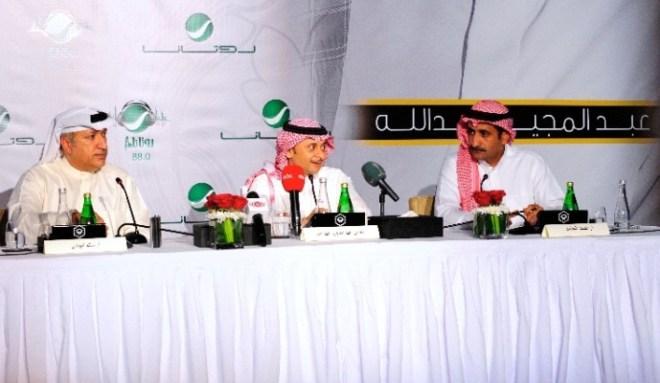Mr Salem, Artist AbdulMajeed Abdullah & Ahmad Al Hamed-3