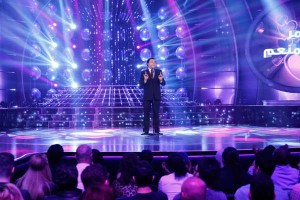 MBC4 & MBC MASR- Your Face Sounds Familiar- Tamer Abd El Menem impersonating Hani Sahker (2)